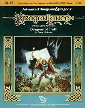 DL13 Dragons of Truth - Book  of the Advanced Dungeons and Dragons Module #C4