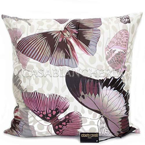 Roberto Cavalli Cuscino arredo Fading Butterfly-Rosa-60x60 cm