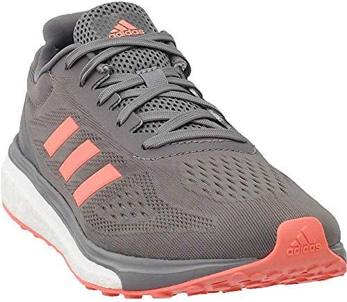 adidas Response Boost LT Women's Running Shoe 6.5 Gray-Sun Glow-Ice Mint