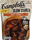 Campbell's Slow Cooker Sauces, Beef Stew, 12 Ounce (Packaging May Vary)