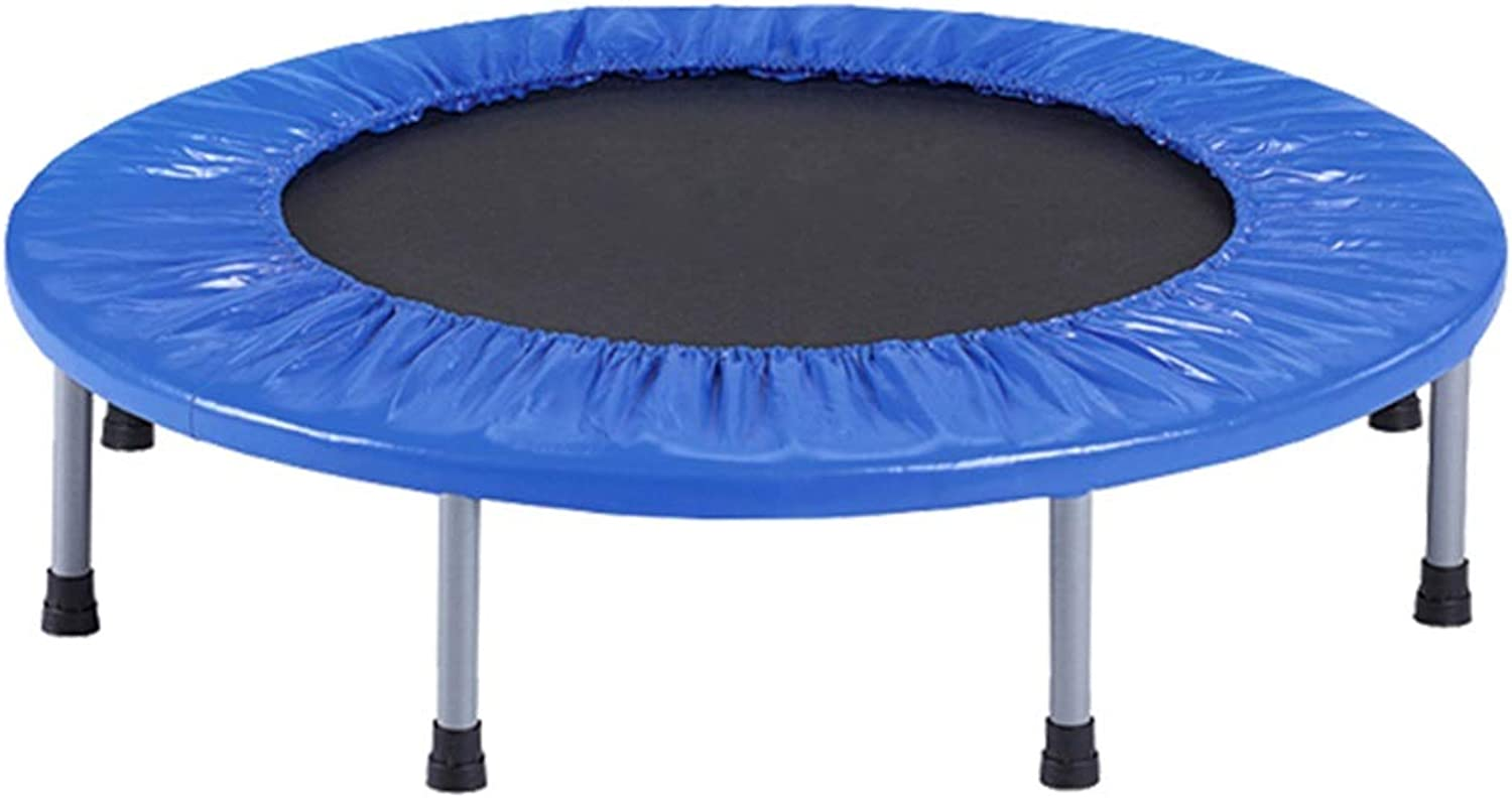 LWY-Trampoline Mini Trampolin Home Indoor Fitness Kinder Falttrampolin 38 Zoll PP Jump Cloth