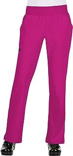 KOI Basics 5-Pocket Natural Waist Flare Leg Laurie Yoga Scrub Pant for Women
