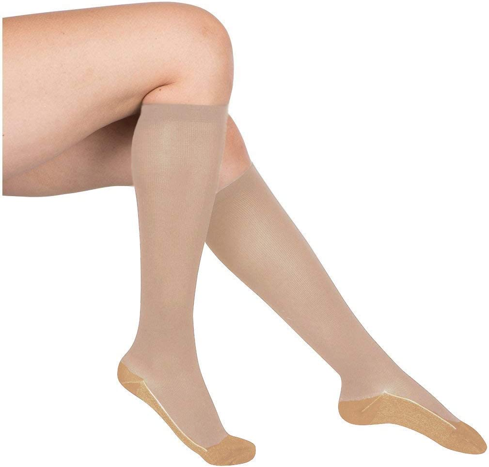 EvoNation Women's Copper USA Made Don't miss the campaign Compression overseas 20 Graduated Socks