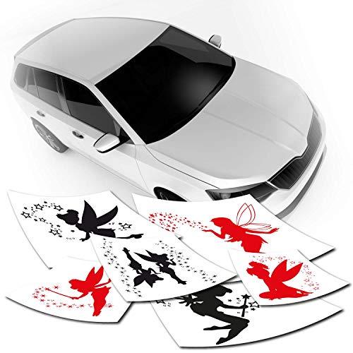Klebe-X Autotattoos & Autoaufkleber | Fee | Sterne Feen ✓ Farbe ✓ Folie ✓ Größe