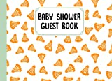 Baby Shower Guest Book: Badminton Baby Shower Guest Book, Baby Shower Guestbook For Wishes & Advice And Predictions For Parents | 150 Pages, Size 8.25' x 6' By Siegrid Graf