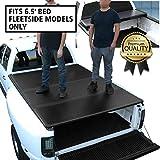 DNA Motoring TTC-HARD-038 Truck Bed Top Hard Solid Tri-Fold Tonneau Cover For 14-18 Silverado 6.5Ft Fleetside Bed