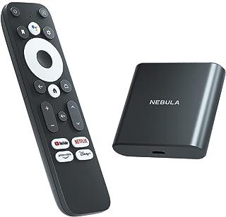 Anker Nebula 4K Streaming Dongle (Android TV 10.0搭載 ストリーミングドングル)【4K UHD/Googleアシスタント対応/簡単セットアップ/Chromecast対応/Dolby Digital...