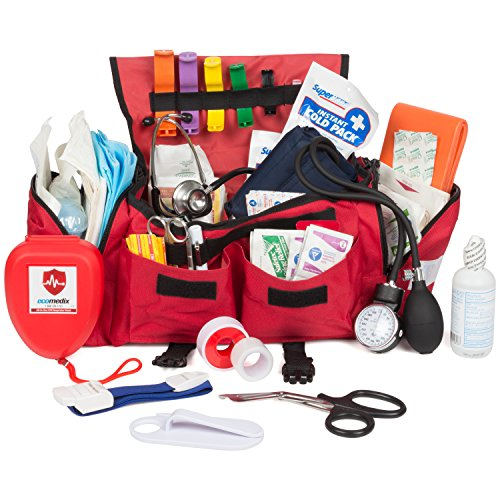 Eco Medix First Aid Emergency First Responder Trauma Kit