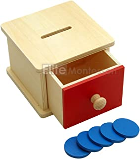 Elite Montessori Infant Coin Box