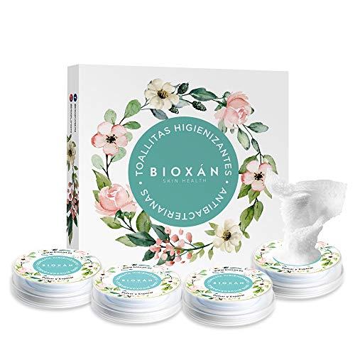 BIOXAN   Pack 4 Toallitas higienizantes de Manos