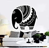 myrockshirt Wandtattoo Aufkleber Baby-Elefant Tier Kinderzimmer für alle glatten Flächen UV&Waschanlagenfest Auto Sticker