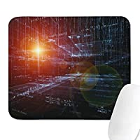 ファミリーゲームオフィスマウスパッド数学方程式物理学サイエンスヴィンテージ快適滑り止めラバー長方形マウスパッド