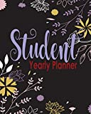 Yearly Student Planner: Goals Planner and Logbook Tracker and Plan for Your Habits and Monthly Calendar Healthy Lifestyle Productivity with My Friends (Teens)