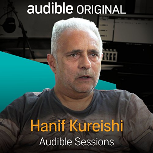 Hanif Kureishi audiobook cover art