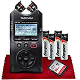 Tascam DR-40X Four-Track Digital Audio Recorder and USB Audio Interface w/Basic Accessories
