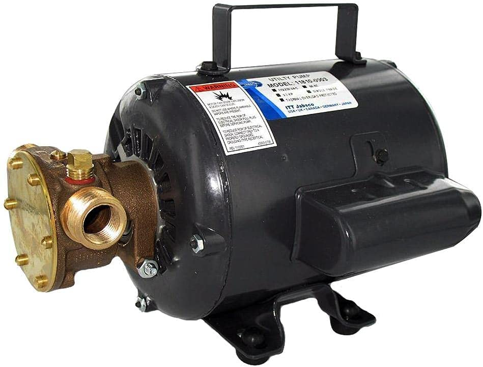 Jabsco Bronze AC Motor Pump Unit - 115v