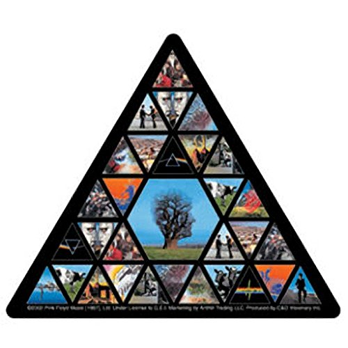 "PINK FLOYD Triangle, Officially Licensed Artwork, Premium Quality, 4"" Die-Cut Vinyl Sticker Aufkleber DECAL"