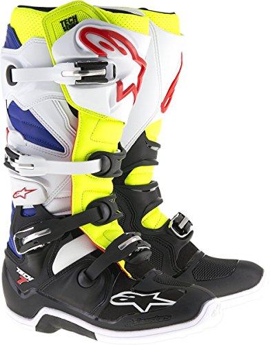 Alpinestars Tech 7 Motorradstiefel 8 (42) Weiß