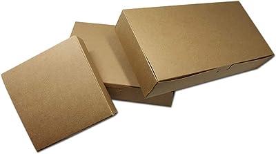 MEIZOKEN 20pcs/lot Retro Brown Kraft Paper Gift Package Storage Boxes Party Decoration Box for