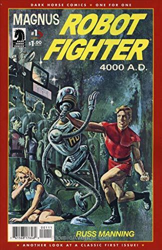 Magnus, Robot Fighter (Gold Key) #1 (2nd) FN ; Gold Key comic book