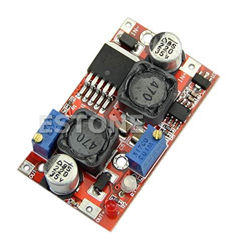 Yintiod CC CV Spannungsregler Automatic Boost Buck Converter 4-35V bis 1,25-25V LM2577