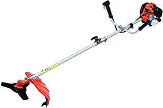 Smarter KN Tools Pvt Ltd *𝗡𝗘𝗪 & 𝗜𝗠𝗣𝗥𝗢𝗩𝗘𝗗* 2 Stroke Air Cooled Grass Cutting Machine for/Agriculture/Gardening/Farming with 52CC Engine and Blade