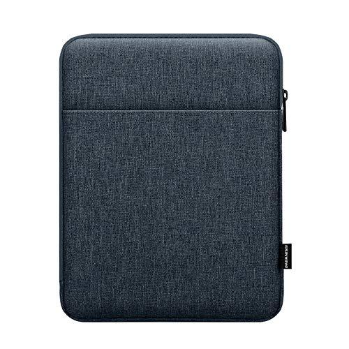Dadanism Sleeve per Tablet New iPad 10.2 2020/2019, iPad Air 4 10.9 2020, iPad Pro 11 2020, iPad 9.7, Galaxy Tab A7 10.4 2020, 9-11 Inch Custodia Protettiva Borsa Sleeve in Poliestere, Grigio Siderale