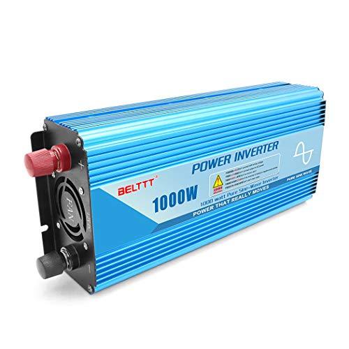 JGRH 1000W de Onda sinusoidal Pura 12V24V48V para 220V Pie de energía...