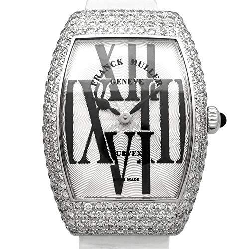 フランク・ミュラー FRANCK MULLER トノウカーベックス 1762QZ シルバー文字盤 新品 腕時計 レディース (W168185) [並行輸入品]