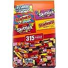 LIFE SAVERS Gummy, STARBURST Duos and Original & SKITTLES Wild Berry and Original Fun Size Chewy Bulk Halloween Candy Assortment - 97.68oz/315 pieces