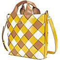 Michael Kors Mott Woven Leather Market Tote