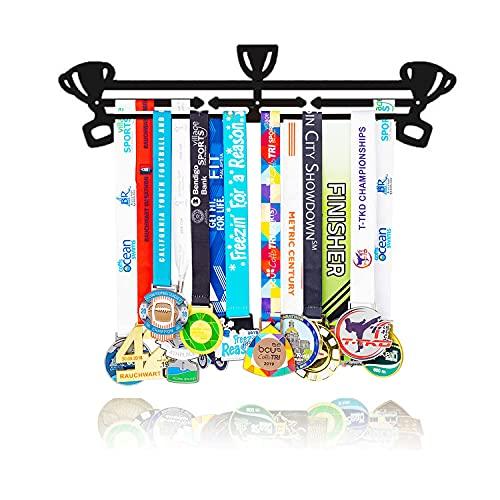 Medallero Colgador De Medallas Running, Porta Medallas Deportivo, Medalleros Running Colgador Organizador Colgar Medallas Deportivas Medal Hanger Holder Regalos Para Deportistas