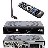 Ultima Version Viark Combo - Receptor Satélite Combo Full HD DVB-S2 Multistream + T2/C H.265/HEVC,...
