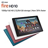 All-New Fire HD 10 Tablet (10.1' 1080p full HD display, 32 GB) – Black + Kindle Unlimited (with auto-renewal)