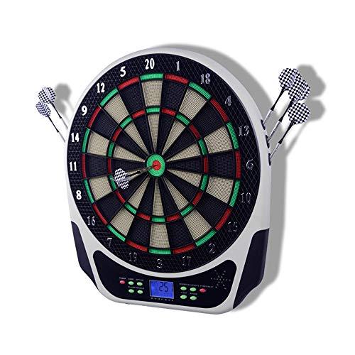 LIN-Reliable Best Sporting elektronische Dartscheibe Dartautomat mit LCD-Anzeige Turnierscheibe mit 18 Spielen und über 159 Varianten