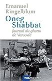 Oneg Shabbat - Journal du ghetto de Varsovie (Cal-levy - Mémorial de la shoah) - Format Kindle - 18,99 €