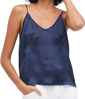 Kloius Damen Casual Camisole Pullover Tank Top V-Ausschnitt Weste Top