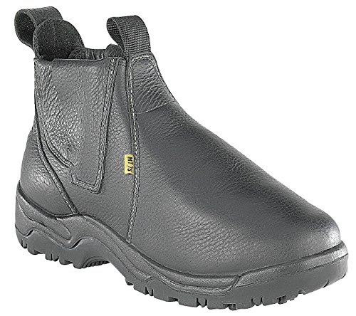 Amazing Deal Work Boots, Steel Toe, Met Grd, 9-1/2, PR