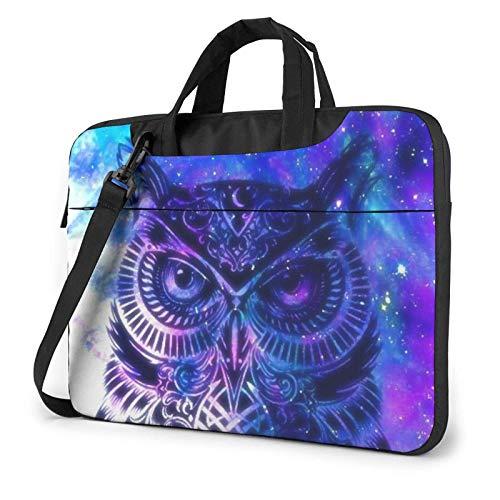 Blue Owl Laptop Sleeve 14 Inch Stylish Cute Neoprene Notebook Handbag