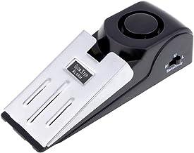 Mengshen Mini Wireless Vibration Triggered Wedge Shaped Door Stopper Alert Home Security System Door Stop Alarm Block Bloc...