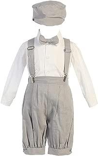 iGirldress Little Boys' Suspender Linen Knickers hat Sizes 3-6 mos-5