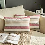 MIULEE 12inch 2P stripe pillow cover_01