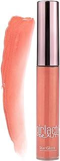 Girlactik Just Sexy Star Gloss Lip Gloss, Coral Pink Gold