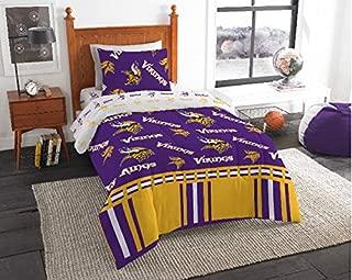 Minnesota Vikings NFL Twin Comforter & Sheets, 4 Piece NFL Bedding, New! + Homemade Wax Melts