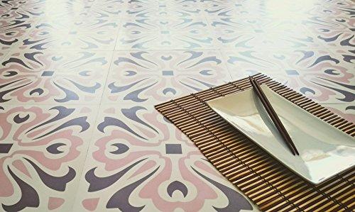 Zazous Havana Dawn Selbstklebendes Vinyl Boden Fliesen, Vinyl Bodenbelag.