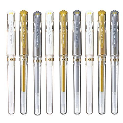 Uni-Ball Signo UM-153 Broad Point Gel Impact Pen, 1.0mm,...