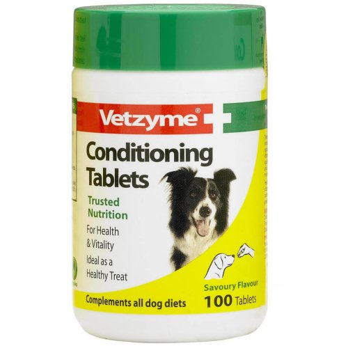 Vetzyme Dog Conditioning Tablets X 100
