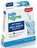 Safe Home WELL WATER Test Kit – DIY Testing for 18 Different Parameters in a Well Water Supply – Bacteria, Lead, Pesticides, Mercury, Hex-Chrome, Copper, Iron, pH, Hardness & More.