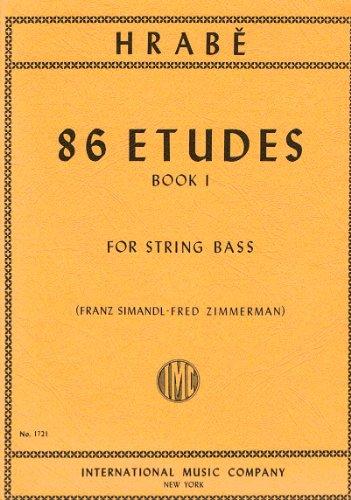 HRABE J. - Estudios (86) 1º para Contrabajo (Simandl/Zimmermann)