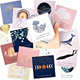 RYVE Affirmation Cards for Women - 45 Positive Affirmations Cards and Inspirational Cards, Encouragement Cards, Meditation Cards, Motivational Cards, Self Care Gifts, Yoga Gifts, Daily Affirmations